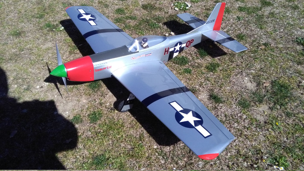 P 51D Mustang