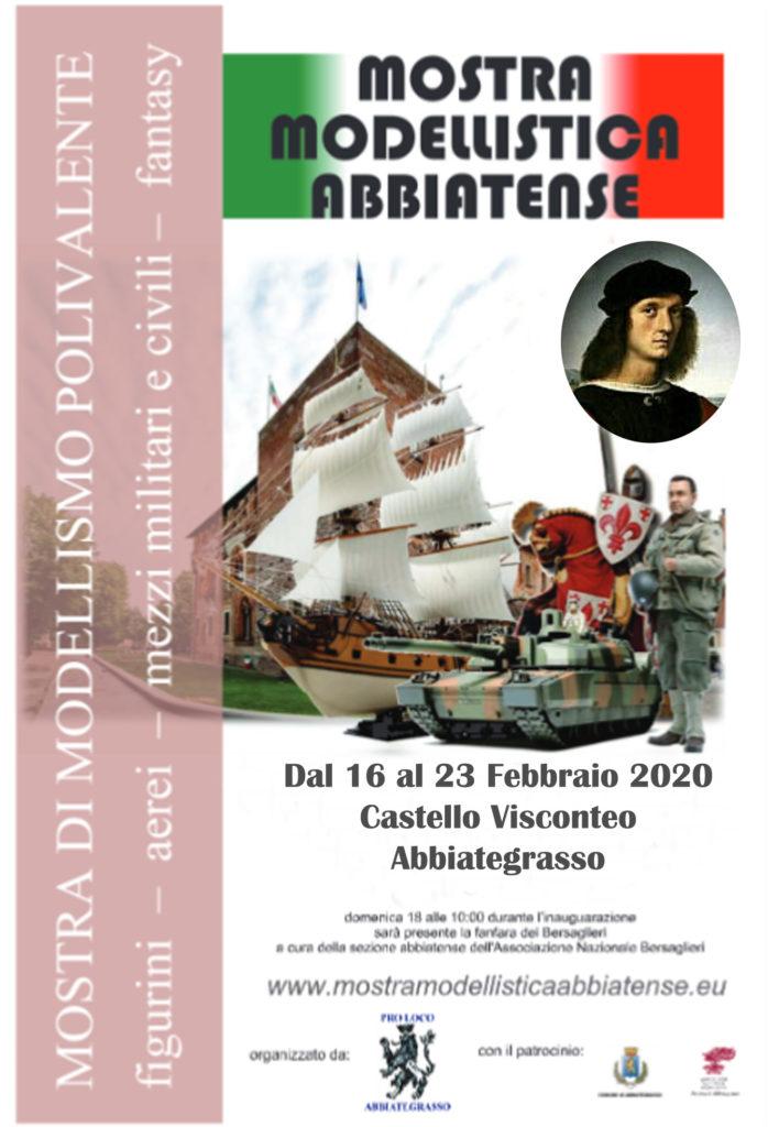 Mostra Modellistica Abbiatense Ab model expo 2020 dal 16 al 23 Febbraio 2020 Castello Visconteo Abbiategrasso. Fiere e Mostre, Meeting e Raduni in Italia
