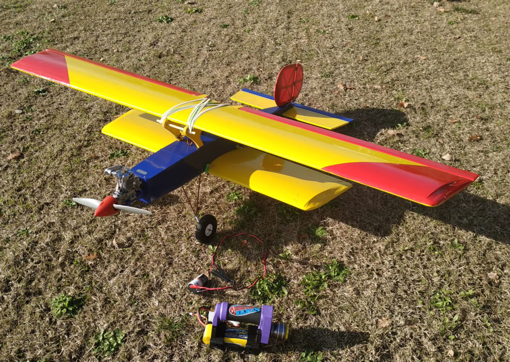 RC Plane : Biplane vintage