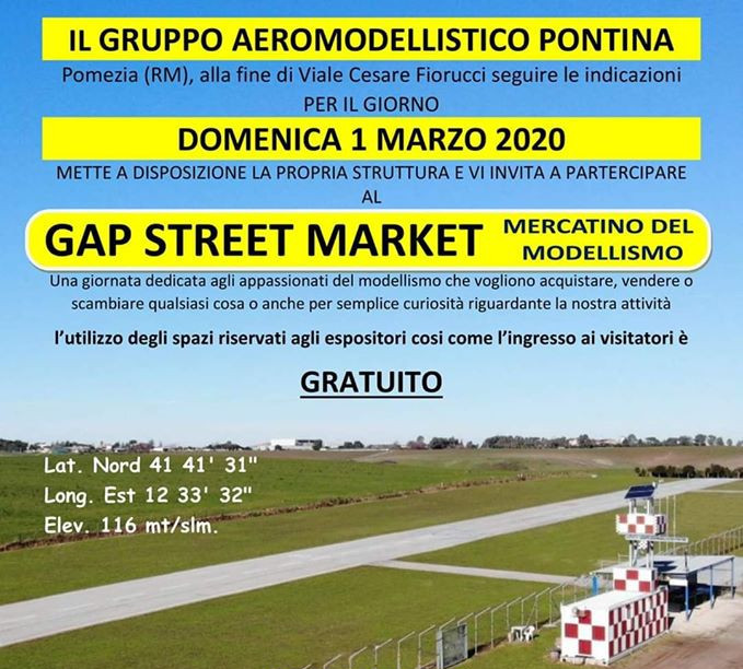 Gap Street Marchet 2020, Fiere e Mostre, Meeting e Raduni in Italia