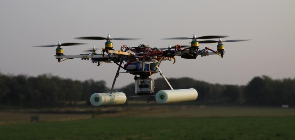 Esacottero o multicottero o anche più genericamente drone